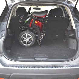Fold and store your Mogobike in the car