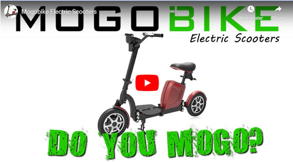 Mogobike electric scooter