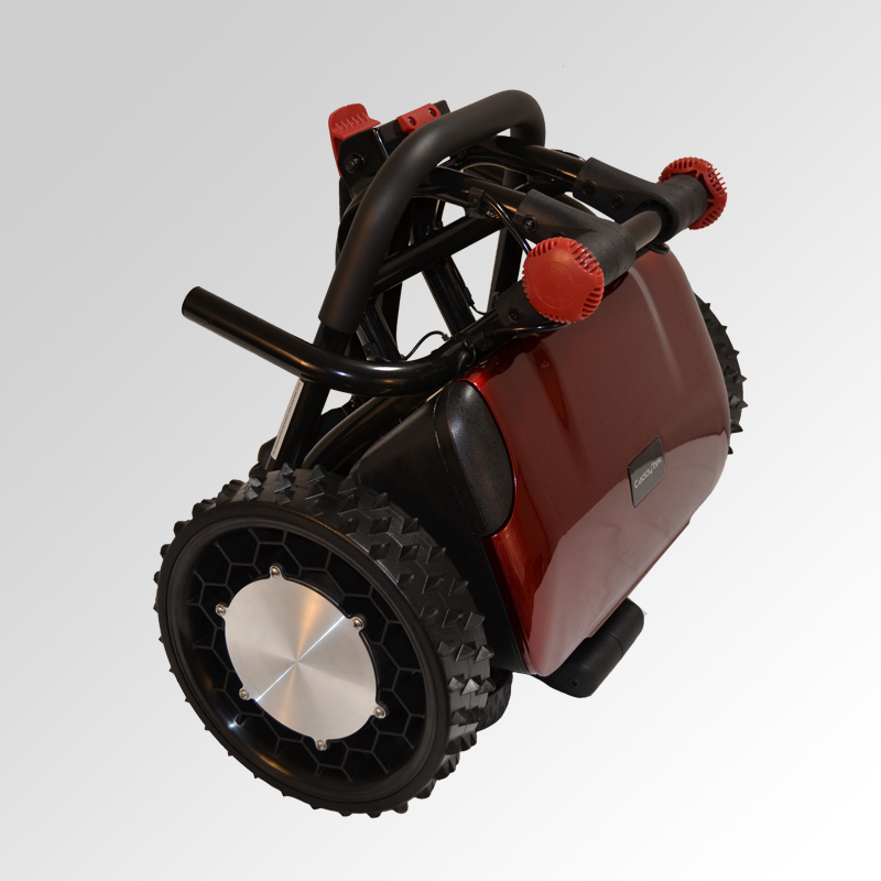Electric Golf Caddy >> Electric Golf Push Cart - CaddyTrek