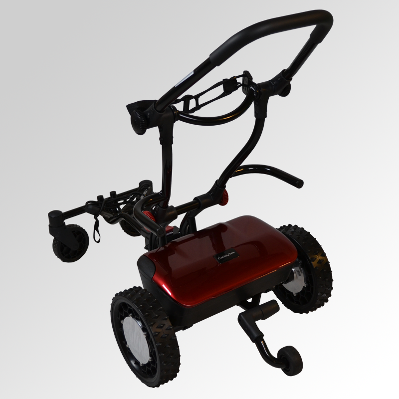 electric golf push cart caddytrek