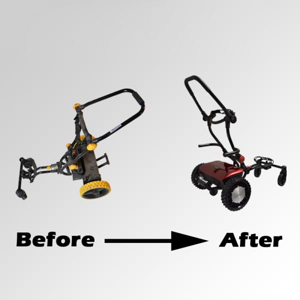 caddytrek maintenance option