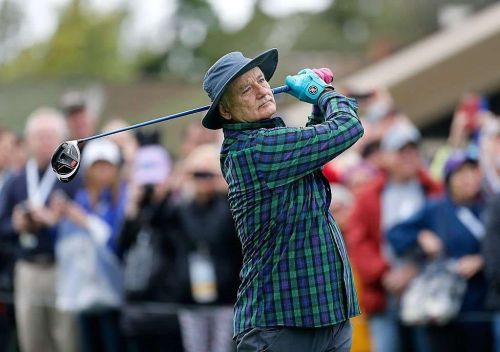 Bill Murray is one of the stars in this year Pebble Beach Pro-Am event